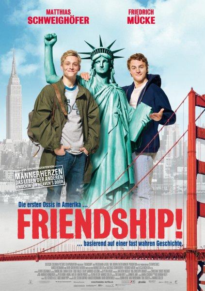 Том и Вайт уделывают Америку / Friendship! (2010)
